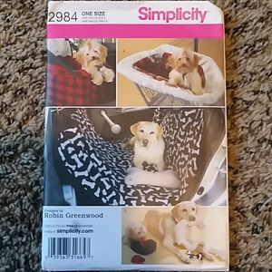 Simplicity Dog Carrier and Seat Protector Pattern